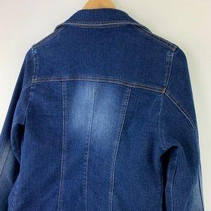 Cache Jackets & Coats - Cache Open Denim Jean Jacket Size 8